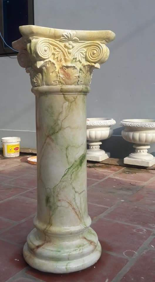 mẫu cột giả đá cẩm thạch đẹp