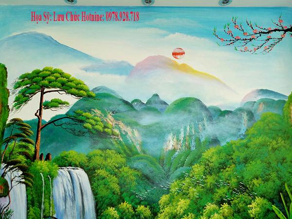 Vẽ Tranh Tường Đẹp Biên Hòa