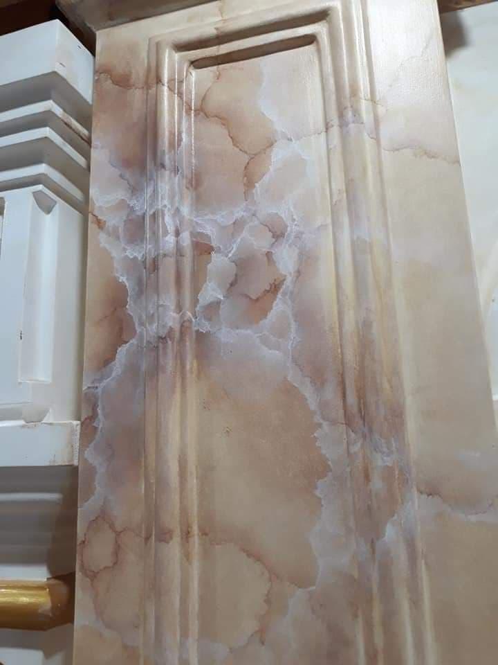 sơn giả đá cẩm thạch như thật