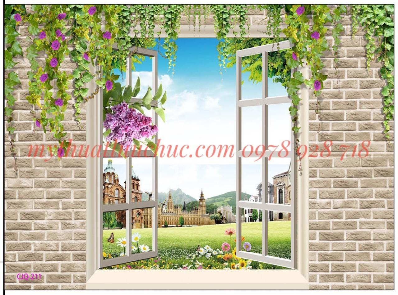 tranh dán tường đẹp