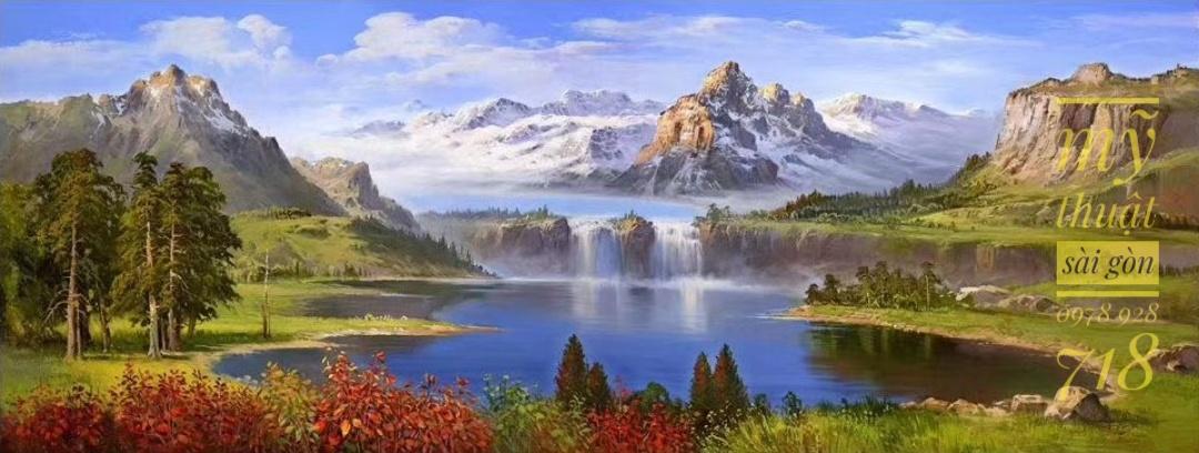 tranh tường phong cảnh đẹp